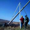 昆明市加固耐磨三角立杆机优质三柱形立杆机价格三角拔杆