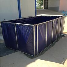 帆布水池帆布鱼池帆布游泳池养鱼帆布水池水产养殖帆布水池图片