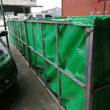 广州水产养殖帆布鱼池图片