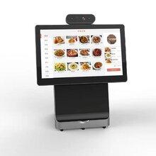 戈子科技-中小學智能食堂方案-智能雙屏收銀機-智慧餐臺
