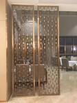 山东酒店楼盘304拉丝不锈钢屏风花格际丰金属制品厂家