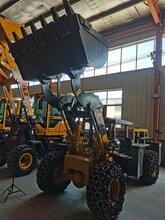 矮體四驅工程裝載機四驅農用小型裝載機山東山獅重價格
