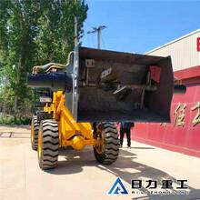 混凝土攪拌站可移動式攪拌機鏟車改裝攪拌斗