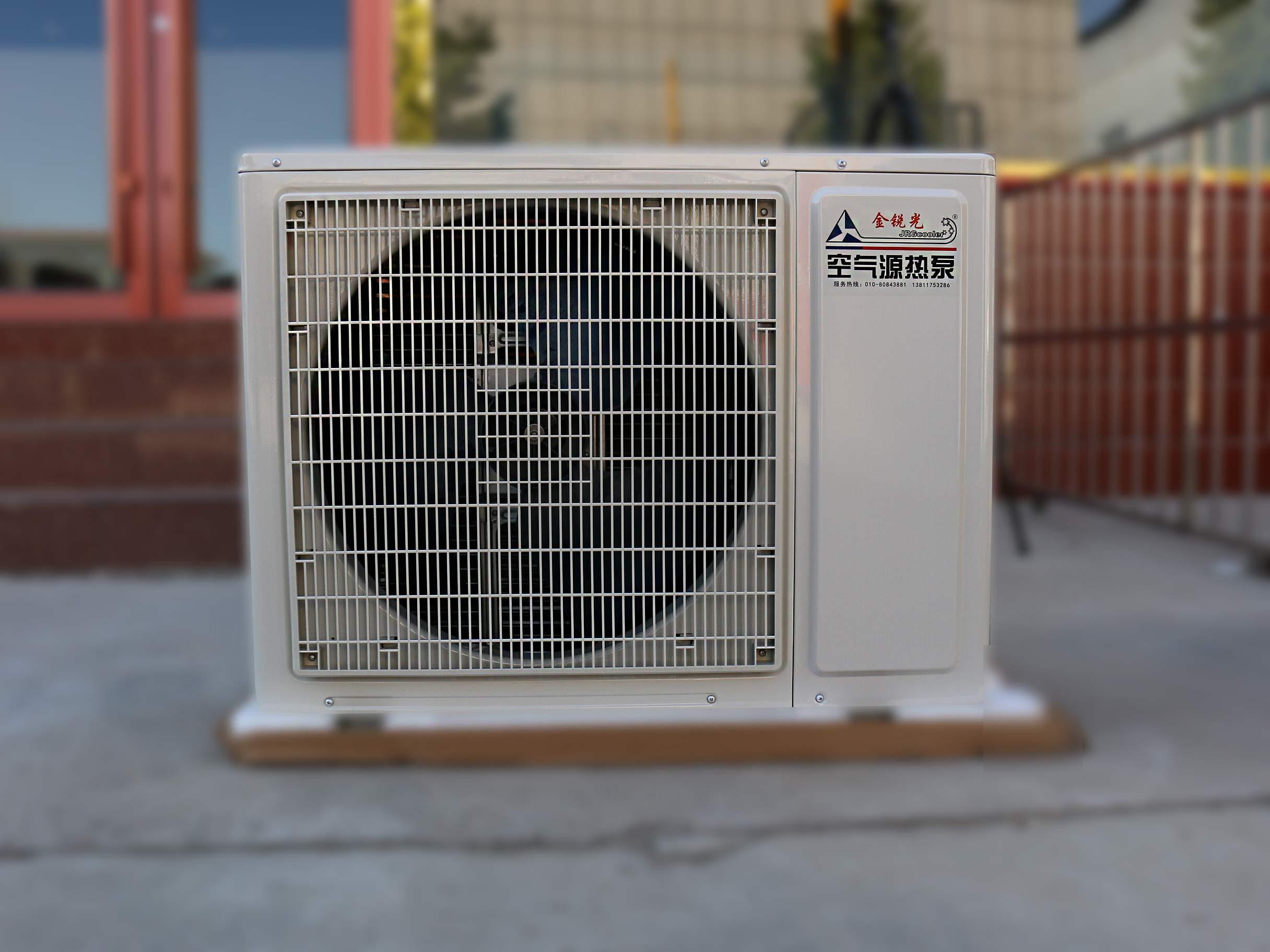 3匹空气能热泵60平家用取暖设备