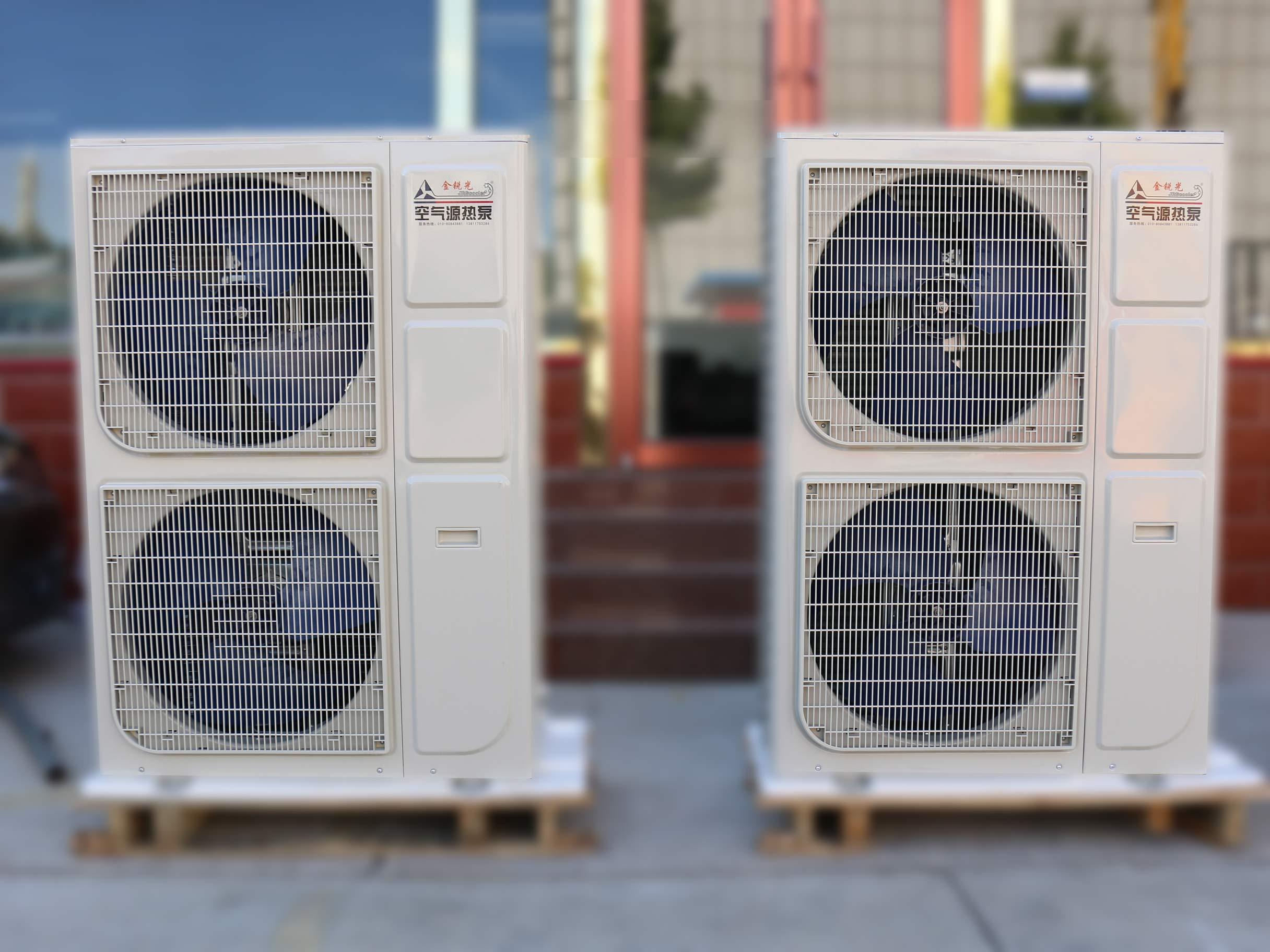 8匹空气能采暖160平供暖设备