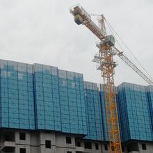 高层建筑适用安全可靠泰义全钢升降爬架-建筑脚手架图片