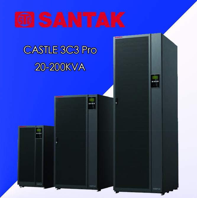 山特UPS不间断电源3C3-PRO20KS/18000W单独主机需搭配电池使用
