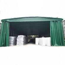十堰区定做雨棚厂家直销户外遮雨棚大型仓库加工厂推拉棚工地雨棚图片