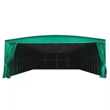 黄石港区定做雨棚夜市排档烧烤蓬货物存放遮雨棚移动停车棚图片