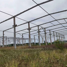 二手鋼結構廠房多種規格鋼結構廠房承接鋼結構工程圖片