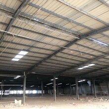 回收二手钢结构各种规格二手钢结构厂房车间废旧行车房道轨图片
