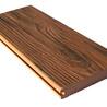直销木塑地板强化复合户外地板防腐木公园花园走廊红樱桃塑木地板