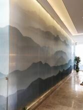 邯鄲高溫數碼彩釉玻璃廠家圖片