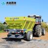 雨林各種規格自動撒糞機廠家農家肥拋肥機