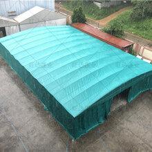 活动雨棚电动推拉棚,优质推拉雨棚安全可靠图片