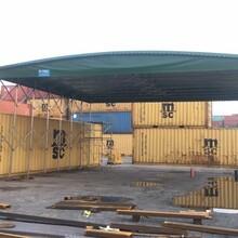 惠州建筑工地棚量大从优,工地伸缩活动雨蓬图片