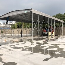 北京环保建筑工地棚安全可靠,定制推拉雨棚图片