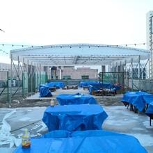 惠州环保大排档雨棚安全可靠图片