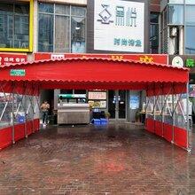 广州大排档雨棚信誉保证图片