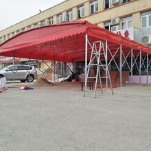 伸缩雨棚户外折叠活动雨棚,江苏定制大排档雨棚效果图图片