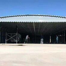 天津南开定制大型修车棚篮球场移动蓬夜市烧烤蓬均可上门指导安装图片