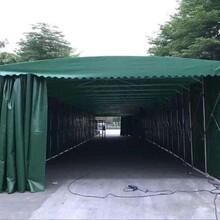 定做推拉雨棚遮陽棚活動伸縮棚籃球蓬游泳池雨棚帳篷上門安裝