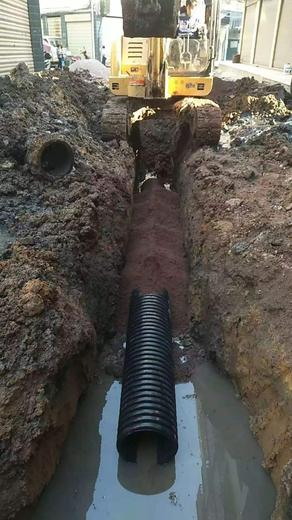 小区污水管改造图