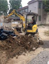 松江区小区污水管改造工程图片