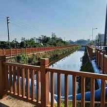 廣州公園水泥仿木欄桿批發價格圖片