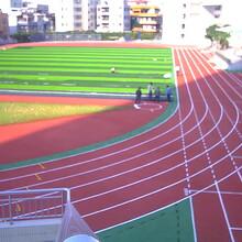 駐馬店跑道塑膠地坪圖片