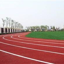 漯河操場跑道塑膠地坪施工圖片