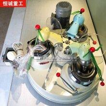 三頭瑪瑙研磨機實驗室用干法研磨機化驗室研磨設備價格-恒重