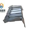 XK7124加工中心Z轴伸缩盖板钢板防护罩