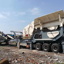 郑州建筑垃圾移动破碎站出租服务图片