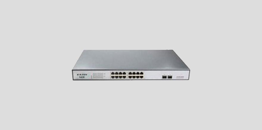 广州声拓电子16口千兆PoE网络交换机音箱设备PoE16+
