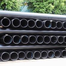 茂名HDPE中空壁缠绕管厂家定制图片