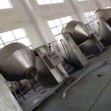 二手真空不銹鋼混合機哪有,二手不銹鋼雙錐干燥機圖片