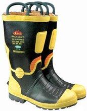 鋼包頭消防靴消防員裝備