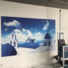 5D壁畫廣告彩繪機3D背景墻打印機壁畫噴繪機