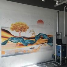 廣東打印機墻體彩畫機3D彩繪機廠家墻體彩印機噴繪機