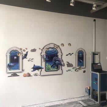 3D墻面彩繪機客廳背景墻面打印噴畫機