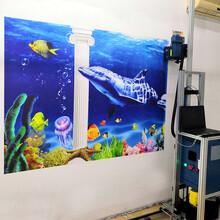 墻體彩繪機噴繪機3D立體戶外墻體繪畫打印機