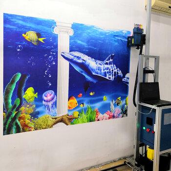 3d墻面繪畫機墻體彩繪機室內戶外打印機