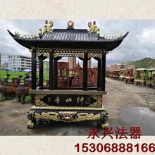 邯郸铸铁一层八龙柱香炉生产厂家图片