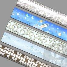 优游山诺帝智造智能发光石膏顶角线条led发光线条灯带招商加盟图片