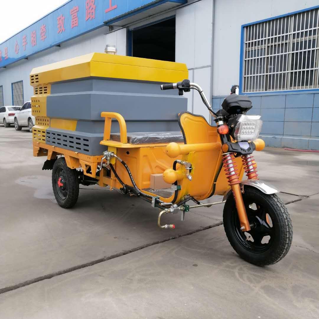 多功能电动高压清洗车学校小区物业广告垃圾桶清理车路面冲洗