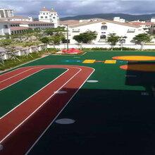 研发生产销售施工于一体的材料厂家,承接全国体育运动场工程。图片