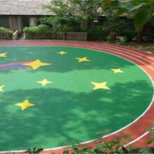 厂家材料直销,硅PU球场,EPDM彩色地面,草坪,塑胶跑道图片