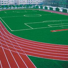 EPDM彩色塑胶地面,硅PU球场,人造草坪,塑胶跑道材料图片