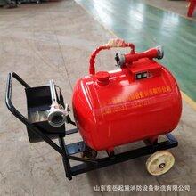 移動泡沫罐車使用方法推車式泡沫罐滅火器移動泡沫推車